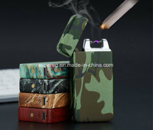 Metal Electronic Camouflage Style USB Cigarette Lighter pictures & photos