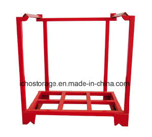 Foldable Stackable Steel Stillage Racks pictures & photos