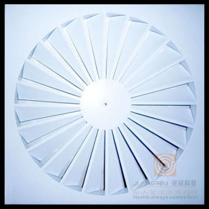 Aluminium Round Adjustable Swirl Diffuser for Ventilation System pictures & photos