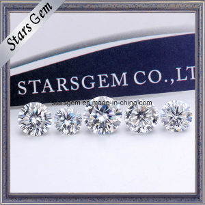 China Make 1CT Moissanite Round Forever One E White Finest Diamond Moissanite pictures & photos