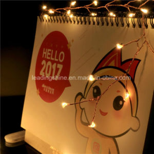 Warm White Micro Starry LED Lights Copper Ultra Thin Bendable Firecracker Lights pictures & photos