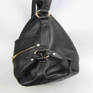Black PU Handbags for Women Shoulder Bag Fashion Accessory pictures & photos