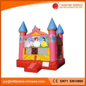 Inflatable Princess Moonwalk Bounce House Jumping Castle for Sale (T2-102) pictures & photos