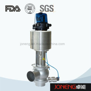 Stainless Steel Food Grade 3 Way Mixproof Valve (JN-SV2003) pictures & photos