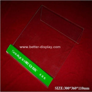Acrylic Headphone Display Stand with MP4 Display Btr-C6001 pictures & photos