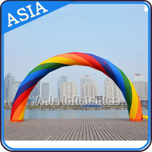 Full Digital Printing Rainbow Arch for Outdoor Event Decoration pictures & photos