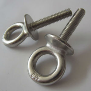Stainless Steel Eye Bolt with Plate pictures & photos