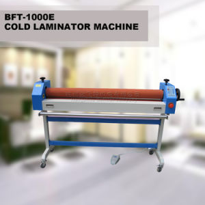"BFT1000E 40"" Simple Electric Cold Laminator Machine pictures & photos"