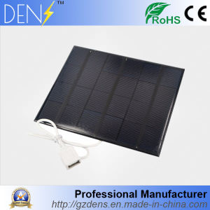 3.5W 6V Polycrystalline Solar Cells Module for Solar System Battery Charging Phone pictures & photos