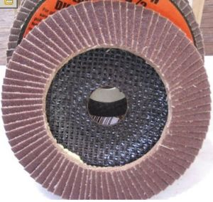"Abrasive Flap Disc with Aluminum 115mm X 22mm (4-1/2"" X 7/8"") pictures & photos"