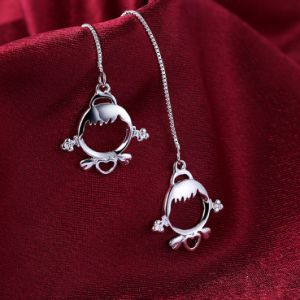Popular Hotsale Women Earrings Jewelry Steriling Silver Gift pictures & photos