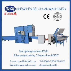 Pillow Weight Setting Filling Machine with Polyester Stample Fiber Bc1017 pictures & photos