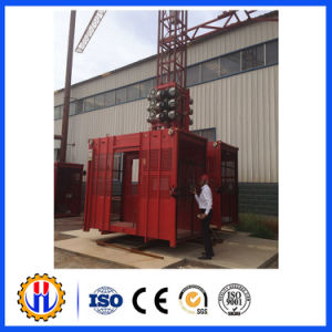 Construction Passenger Cinstruction Hoist/Building Construction Hoist (Sc200/200) pictures & photos