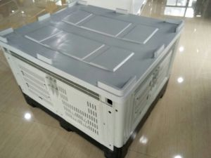Big Collapsible Foldable Plastic Pallet Bulk Container pictures & photos