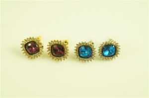 High Quality CZ Stone Earring Stud pictures & photos