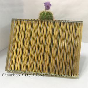10mm Yellow Safety Laminated Glass/Craft Glass/Art Glass/Tempered Glass for Decoration pictures & photos