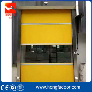 American Standard Fire Rated Industrial Plastic Roller Shutter Fast Door (HF-06) pictures & photos