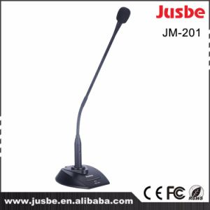 Jusbe Jm-201 Professional Audio Condenser Wire Conference Meeting Desktop Goose Neck Microphone System XLR pictures & photos