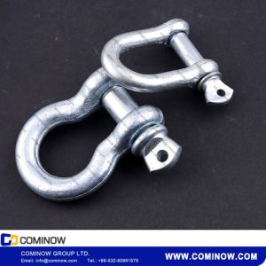 Us Type Drop Forged Screw Pin Anchor Shackle G209 Galvanized / Crosby Bow Shackle pictures & photos