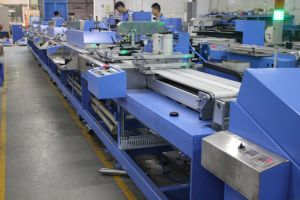 Multicolors Clothing Ribbons Automatic Screen Printing Machine pictures & photos