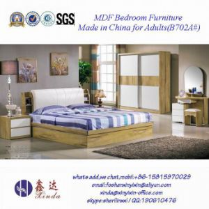 Vietnam Wooden Bed Luxury Hotel Bedroom Furniture (B702A#) pictures & photos
