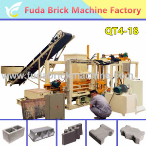 Fully Automatic Hydraulic Color Paving Brick Block Making Machine pictures & photos