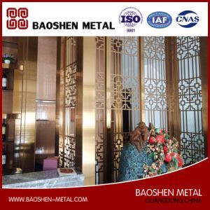 Customized Modern Room Decoration Partition Divider Screen Stainless Steel Direct From Manufacturer pictures & photos