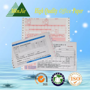 Self-Adhesive Type Carbonless Mutil-Ply Printing Delivery Bill with Scanning Barcode pictures & photos