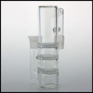 in Stock Triple Honeycomb Glass Disk Wholesale Ash Catcher Ashcatcher pictures & photos
