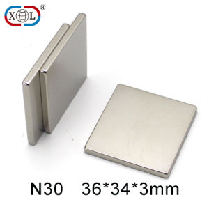 High Quality Retangle Neodymium Magnet N30 pictures & photos