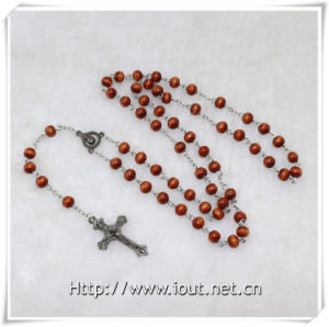 Wooden Beads Rosary, Religious Beads Rosary, Rosaries, Promotion Gift (IO-cr348) pictures & photos
