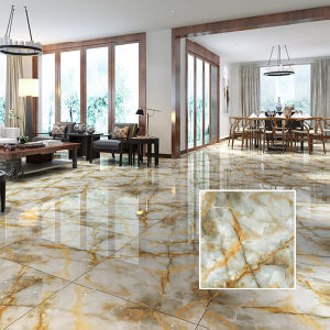 3D White Glazed Polished Porcelain Ceramic Floor Tile From China pictures & photos