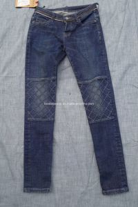 12.18oz Blue Men Jeans (E92701-BZG) pictures & photos