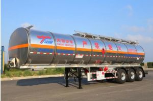 Trailer and Semi Trailer 50 Cbm Fuel Tanker pictures & photos