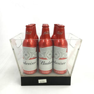 Acrylic Wine Beer Bottle Display Rack for Promotion pictures & photos