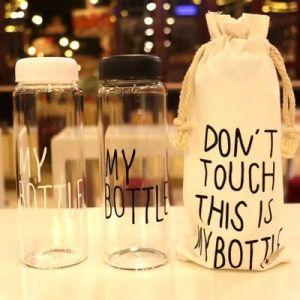 500ml Eco Friendly Water Bottle/Beverage Juice Bottle /Fruit Bottle, Glass Bottles for Milk
