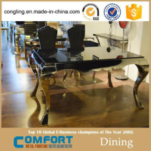 Modern Model Marble Dining Table Design Furniture pictures & photos