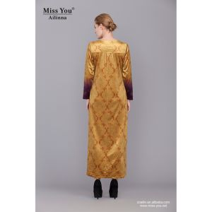 Miss You Ailinna 801971 New Design Elegant Muslim Evening Dress pictures & photos