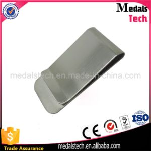 Promotional Custom Logo Cheap Stainless Steel Metal Money Clips pictures & photos