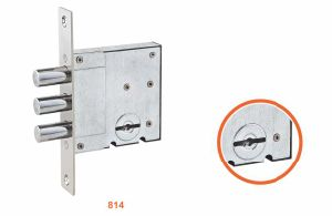 Iron/Zinc Safe Door Lockbody/Security Door Lock (814) pictures & photos