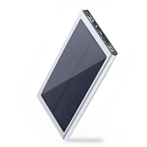 Super Slim Solar Power Bank with High Capacity for Mobile Charging pictures & photos
