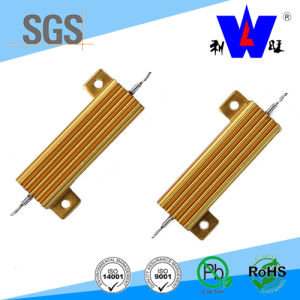 Rx24 (RX600) Golded Aluminum Wirewound Resistor 100W 250W Aluminum Power Resistance pictures & photos