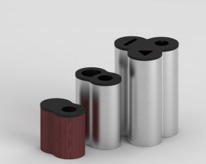 Popular Trash Can Style for European Market pictures & photos
