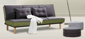 Simple Modern Three Seats Sofa Bed with Competitive Price pictures & photos