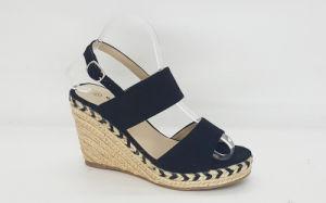 Women′s Fashion Espadrille Wedge Heel Sandle pictures & photos