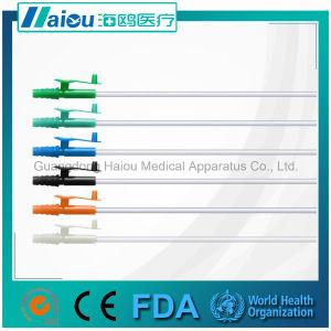 Sterile Disposable Suction Catheter Hos33 Finger Control Connetor pictures & photos