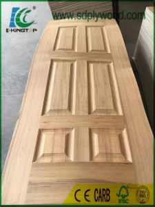 HDF Mould Door Skin with Veneer pictures & photos