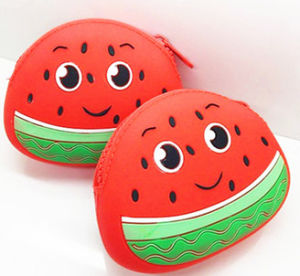 Watermelon Silicone Coin Purses pictures & photos