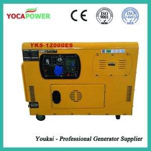 AC Single Phase Output Type 10kw Diesel Generator Price pictures & photos