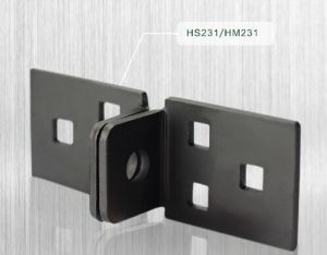 Steel Hasp with Gloss Black (HM231) pictures & photos